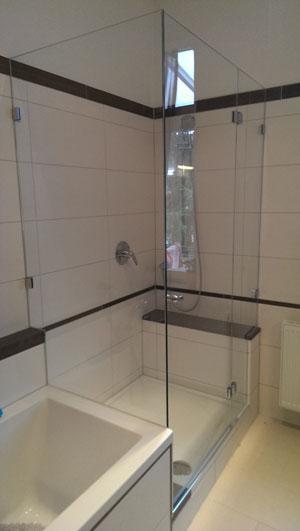 dusche aus glas reinigen pin die dusche aus glas ist der blickfang ...